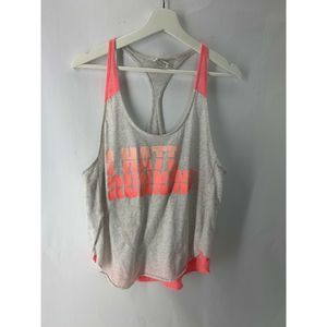 "PINK By Victoria Secret ""Hate Running'' Top"